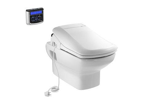 Dama Senso 355x555x400 Vitreous china wall-hung WC with horizontal outlet
