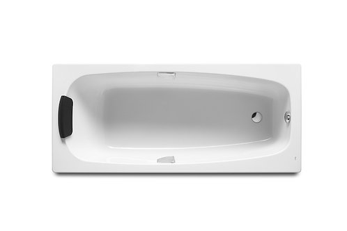 Sureste N 1700x750x420 Rectangular acrylic bath with grips