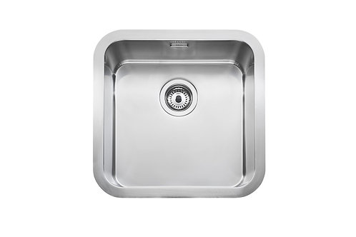 Berlin 460x460x200 PLUS - Stainless steel single bowl