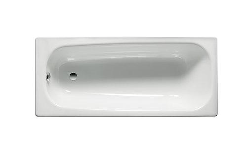 Contesa 1000x700x365 Rectangular steel bath