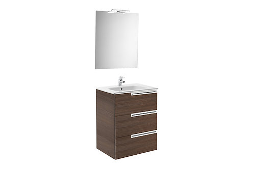 Victoria-N 700x460x740 Pack Family ( basin, mirror and LED spotlight)