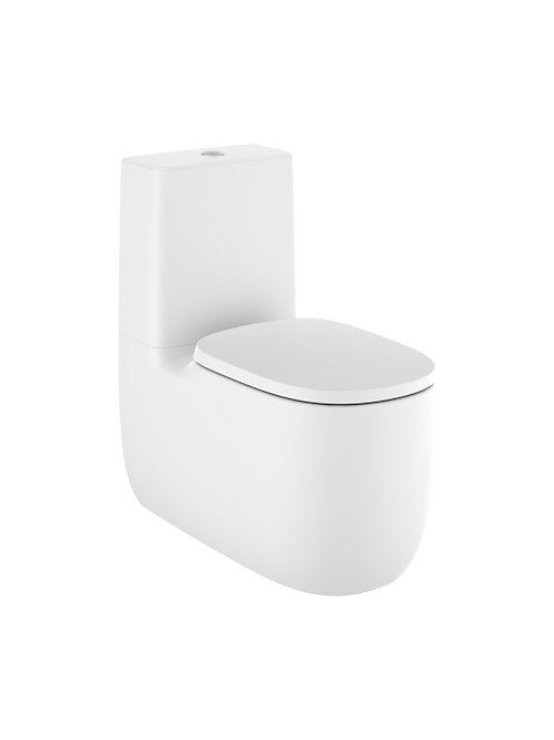 Beyond 395x705x790 Back to wall vitreous china close-coupled Rimless WC