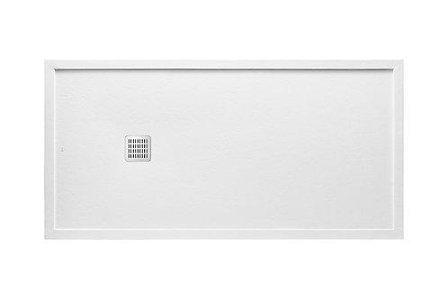 Terran 1800x800x41 Superslim STONEX   shower tray with frame