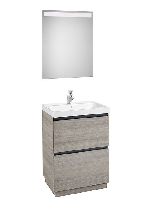 Lander 600x460x865 Pack (basin and LED mirror)