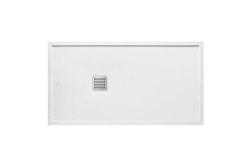 Terran 1400x750x41 Superslim STONEX   shower tray with frame