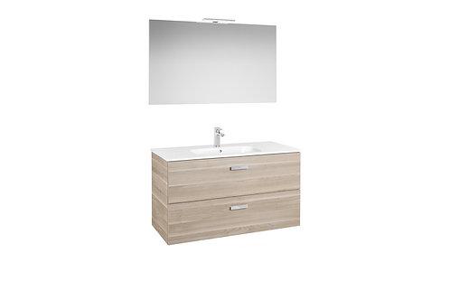 Victoria Basic 1000x460x565 Pack (basin, mirror and LED spotlight)