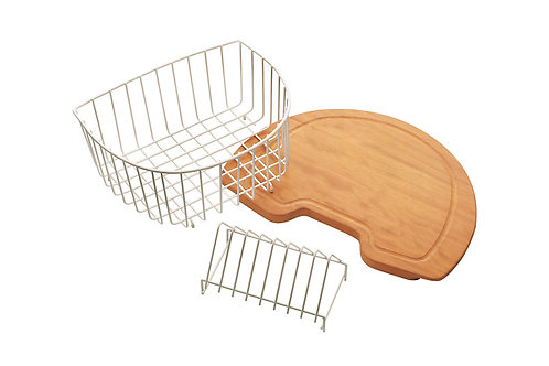 Maxims 370x320x185 Crockery basket for kitchen sink