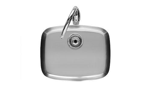 BP 565x465x180 Stainless steel single bowl