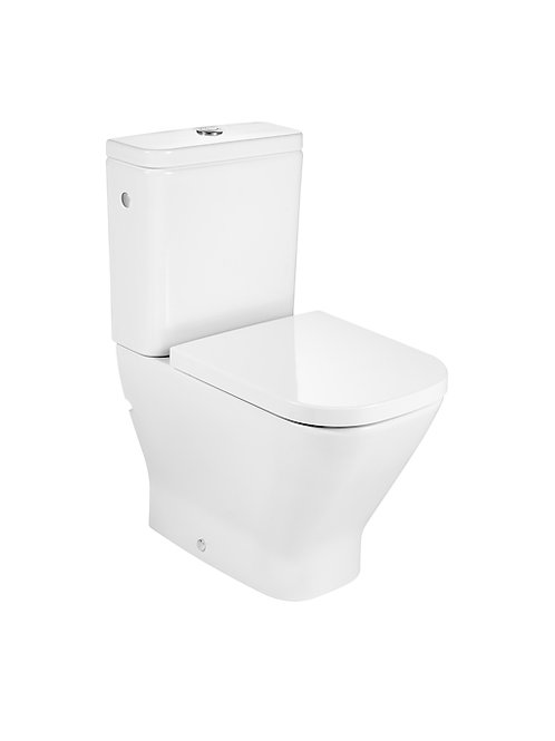 The Gap 365x600x790 Compact back to wall vitreous china close-coupled WC