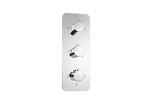 Puzzle Thermostatic built-in shower mixer with 5 way diverter