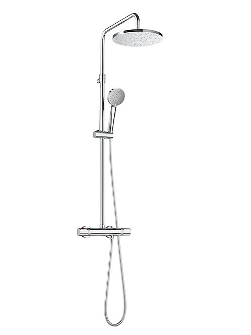 Even ROUND - Thermostatic shower column