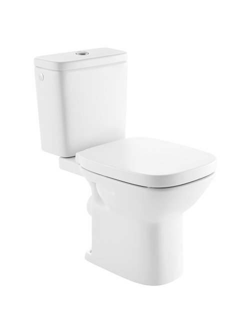 Debba 355x655x760 Vitreous china close-coupled WC with horizontal (NF)