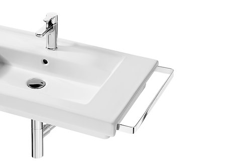 Prisma 425x60x25 Lateral right hand towel rail for basin