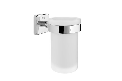 Victoria 76x113x119 Wall-mounted tumbler holder and glass