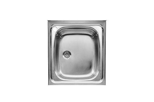 E 450x500x155 Stainless steel single bowl