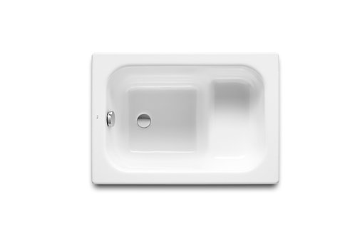 Baseo 1000x700x410 Rectangular cast iron hip bath