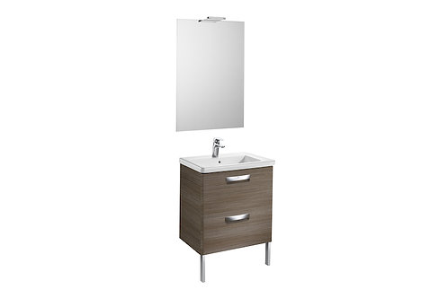 The Gap 600x440x645 Pack (basin, mirror and LED spotlight)