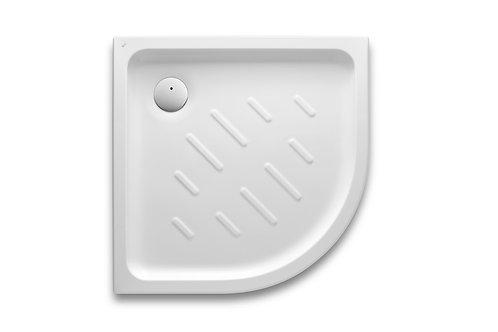 Easy 800x800x65 Corner acrylic shower tray with anti-slip base