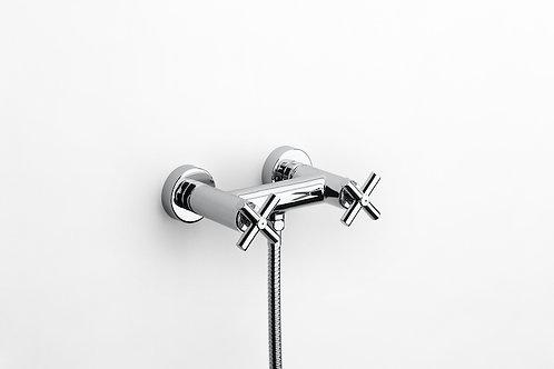 Loft Elite Wall-mounted shower mixer  flexible shower hose