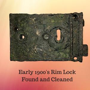 Vintage Rim Lock