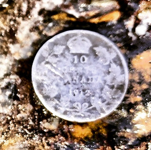 1912 Canadian 10 cent Silver