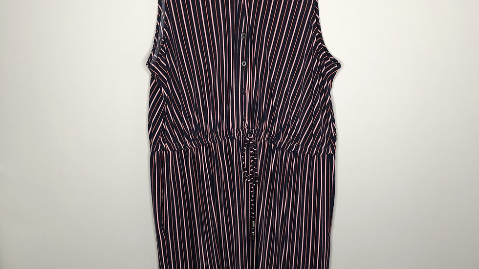 Love & Legend Fit & Flare Striped Dress