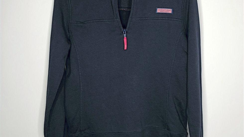 Vineyard Vines Navy Shep Quarter Zip Sweatshirt