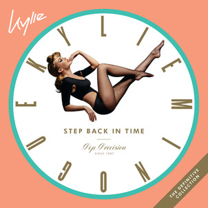 """Kylie Minogue : best of """"step back in time"""" : 41 titres dont 1 inedit """" new york"""" et Clip"""