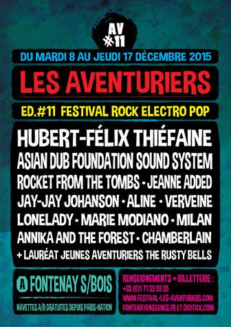 FESTIVAL Les AVENTURIERS 2009- 2017