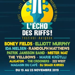 L'ECHO DES RIFFS - Avignon