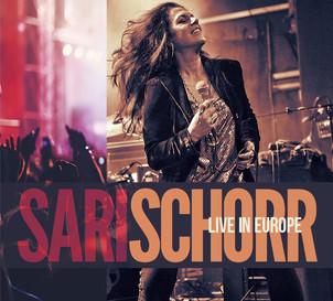"""SARI SCHORR album """"live in Europe""""(Manhaton records -Socadisc)"""