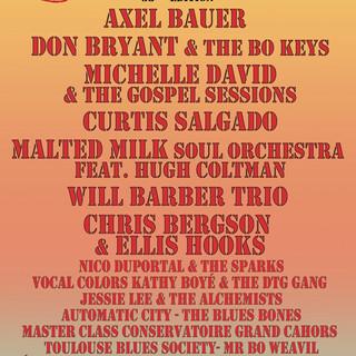 cahors blues festival . Depuis 2016