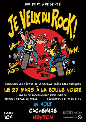 FESTIVAL Je veux du rock !