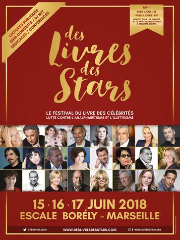 FESTIVAL Des Livres, des Stars marseille 2018
