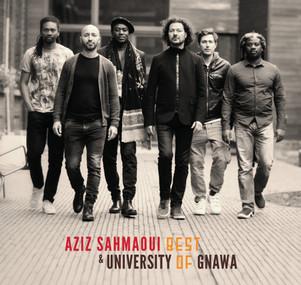 """Aziz Sahmaoui & university of gnawa """" best of - 10 ans - En concert au festival au fil des voix ."""