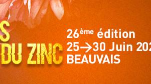 """Festival """"blues autour du zinc"""" 2021.Du 25 au 30 juin"""