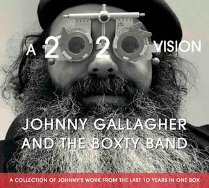 "JOHNNY GALLAGHER ""a 2020 vision"" nouvelle signature sur Dixiefrog"