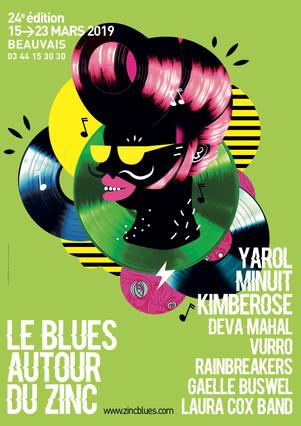 Festival BLUES AUTOUR DU ZINC 2019 du 15 au 23 Mars