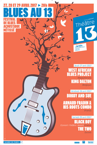 FESTIVAL BLUES au 13 Paris 2010-2017