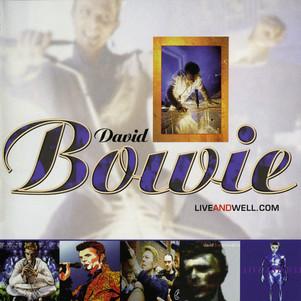 """David Bowie """"live&well.com"""". sortie le 15 Mai ( warner) en stream uniquement"""