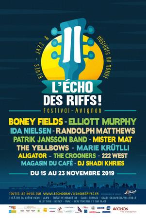Nouveau !!! festival L'echo des Riffs à Avignon