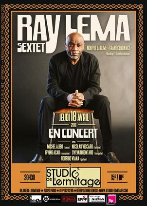 RAY LEMA  en concert le 18 Avril au studio de l' Ermitage / Paris