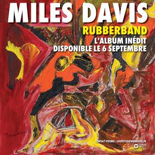 """MILES DAVIS : l'album inédit """" Rubberband"""" // le 03/06-warner"""
