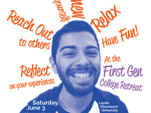 Reach Out, Reflect, Relax at the First Gen College Retreat