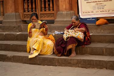 Women on street | Pune