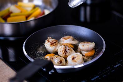 Atelier culinaire • St Jacques & ses petits légumes
