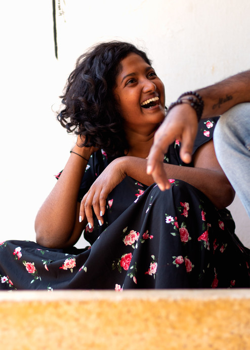 Lavina's laugh   Mysore