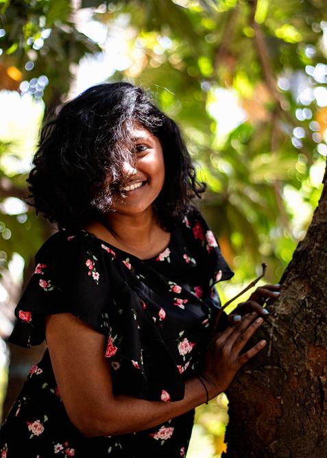 Lavina in trees   Mysore