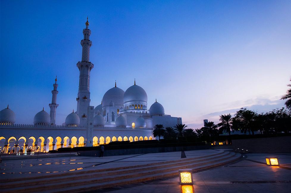 La Grande Mosquée   Abu Dhabi UAE