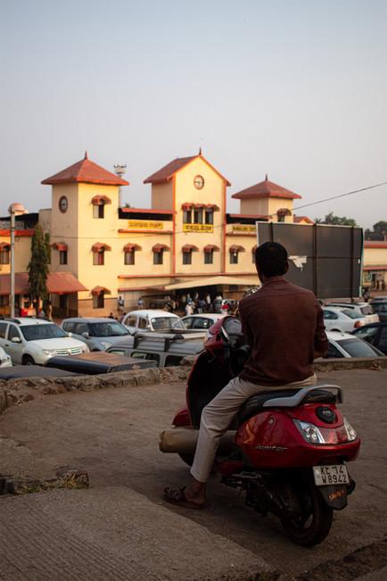 Man on scootie | Mangalore